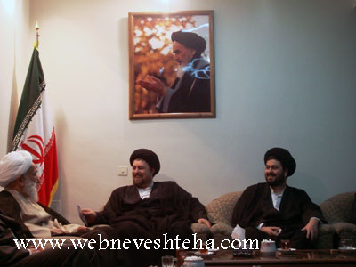سید حسن و سید یاسر خمینی